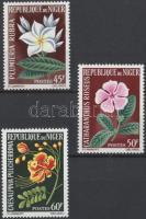 1965 Virágok sor Mi 91-93