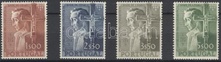 1954 Sao Paulo sor Mi 831-834