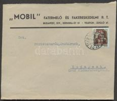 1945 (2. díjszabás) Helyi céges levél Kisegítő 2P/2P bérmentesítéssel
