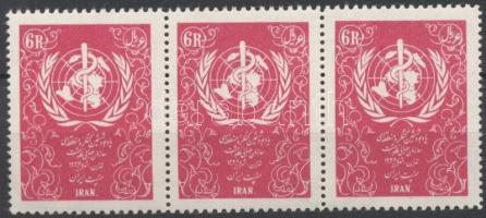 1956 Egészségügyi világszervezet hármascsíkon Mi 969