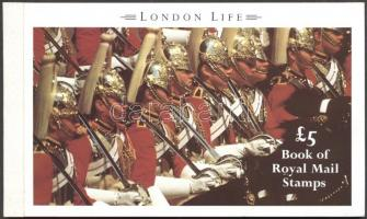 1990 II. Erzsébet: Londoni élet bélyegfüzet MH 91