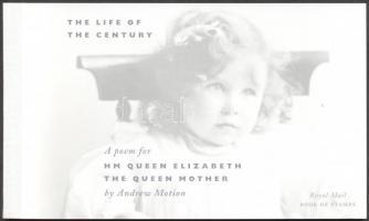 2000 II. Erzsébet: Anyakirályné bélyegfüzet MH 137