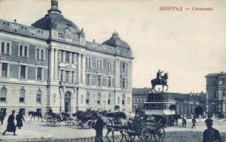 Belgrade, monument, bank