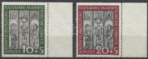 1951 Marienkirche Mi 139-140 ívszéli sor