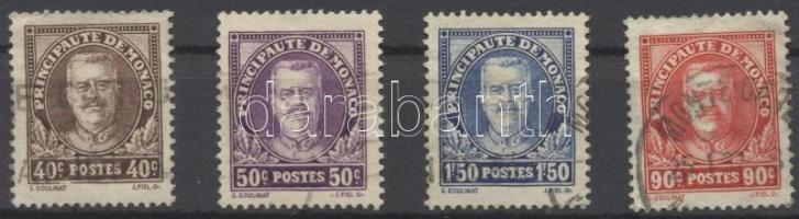 1933 Forgalmi sor Mi 116-119