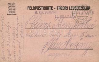 1916 Levelezőlap EP Niksic b - Jászberény