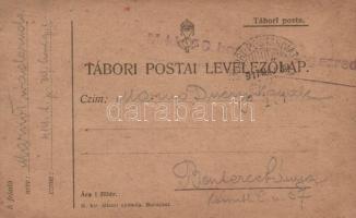 1917 Levelezőlap TP 414 b - Besztercebánya