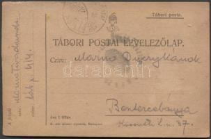 1917 Levelezőlap TP 414 - Besztercebánya