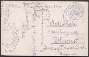 1917 Képeslap FP 285 a - Kispest