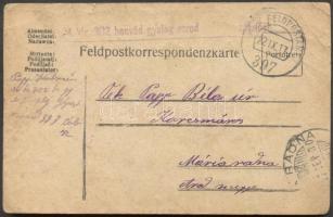 1917 Levelezőlap FP 397