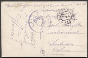 1917 Képeslap EP 445a