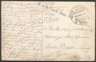 1917 Képeslap TP 632b - Eger