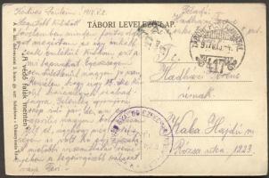 1917 Képeslap TP 417
