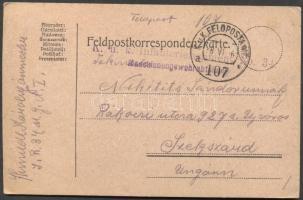 1916 Levelezőlap FP 107a