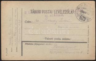 1918 Levelezőlap TP 639