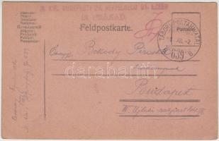 1918 Levelezőlap TP 639B