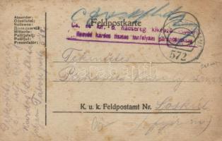 1918 Levelezőlap FP 572