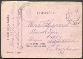 1916 Levelezőlap TP 23b