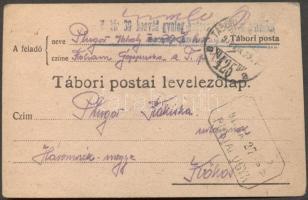 1918 Levelezőlap TP 425a