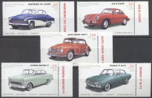 2003 Oldtimer autók (II.) ívszéli sor Mi 2362-2366