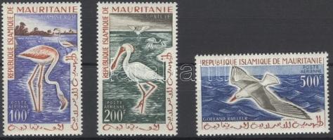 1961 Madarak sor Mi 178-180