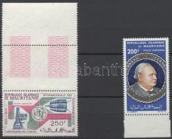 1965 2 klf ívszéli légiposta bélyeg