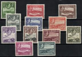 1938/1949 Forgalmi sor / Definitive set Mi 78-89