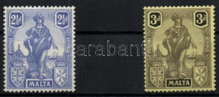 1926 Forgalmi sor / Definitive set Mi 98-99