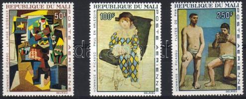 1967. Picasso festmények Mi 146-148