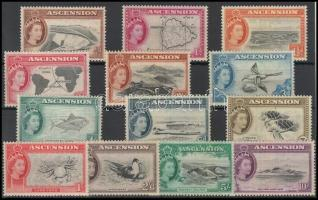 1956 Forgalmi sor / Definitive set Mi 62-74