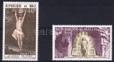 1984. Húsvét, festmények Mi 999-1000