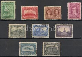 1929-1931 Forgalmi bélyeg sor/ Definitive stamp set Mi 145-153