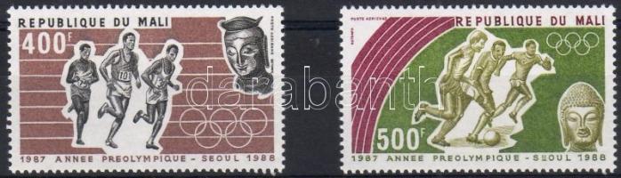 1987 Szöuli olimpia Mi 1094-1095