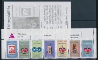 2004 Hunfila Veszprém tervező pecsétjével levélzáró hetescsík