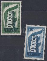 1956 Európa sor Mi 973-974