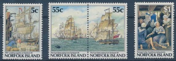 1986 Bálnavadász hajók Mi 360-363