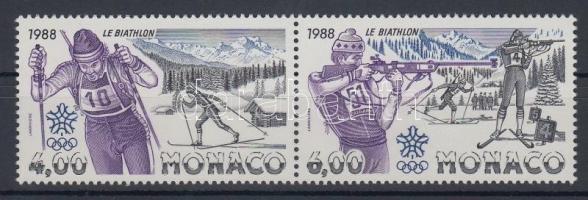 1988 Téli olimpia sor Mi 1855-1856