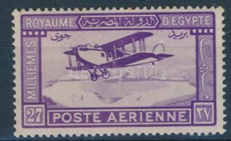 1926 Légiposta bélyeg / Airmail stamp Mi 103 (apró rozsda / light stain)