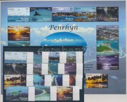 2011 Turizmus sor + kisív Mi 647-661