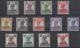 Forgalmi bélyeg felülnyomással Definitive stamp set with overprint