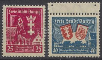 1937 Danzigi falu Magdeburgban Mi 274x-275x