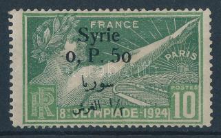 1924 Nyári olimpia: Párizs (II.) felülnyomással / Summer Olympics (II.) with overprint Mi 254
