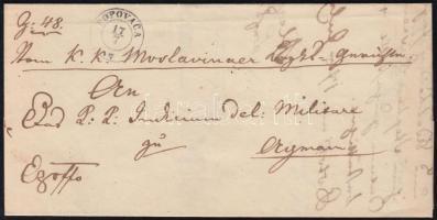 1851 Ex offo POPOVACA - AGRAM