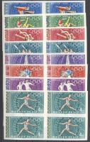 1968 Olimpia vágott négyestömbökben