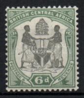Brit Közép-Afrika 1897 Forgalmi bélyeg / Definitive stamp Mi 45