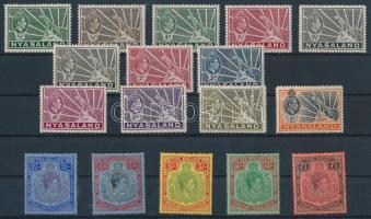 1938/1944 Forgalmi bélyegek / Definitive stamps Mi 52-53, 55-69