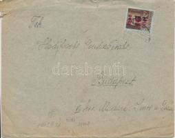 1946 (7. díjszabás) Távolsági levél Betűs II. Tl.2./10f bérmentesítéssel