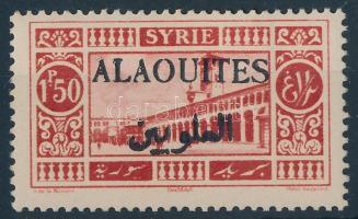 Definitive stamp with black overprint Forgalmi bélyeg fekete felülnyomással