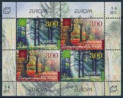 2010 Europa CEPT Az Erdő blokk Mi 23