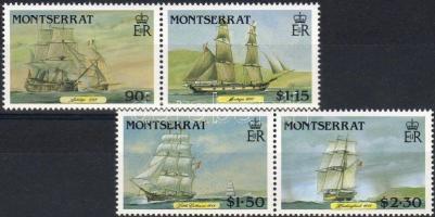1986 Vitorláshajók Mi 643-646